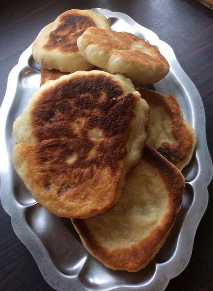 pain à la poêle