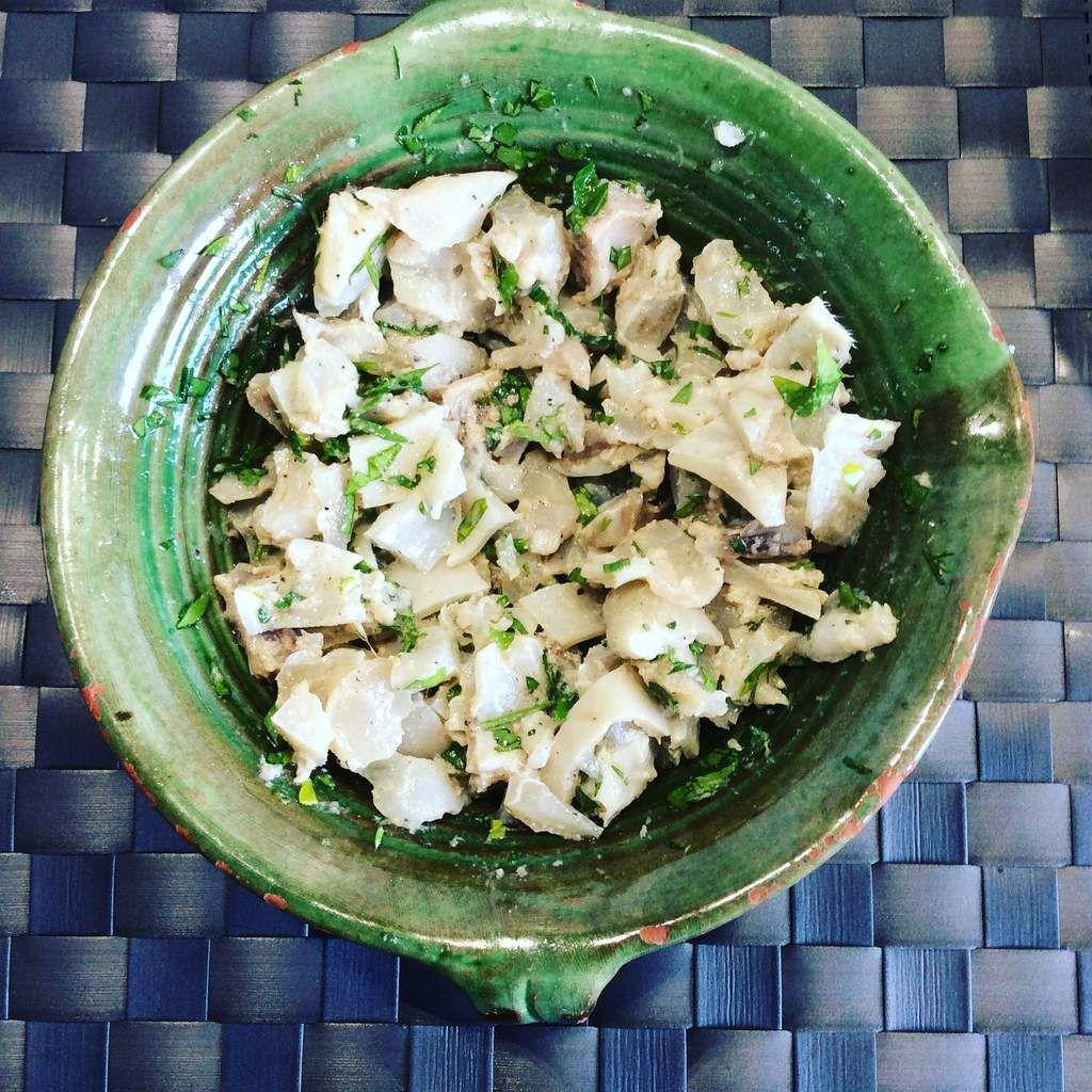 salade de pied de veau