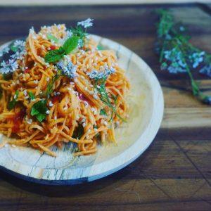 salade thaï de patate douce crue