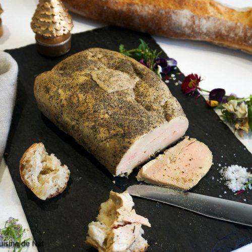 foie gras cuit au gros sel