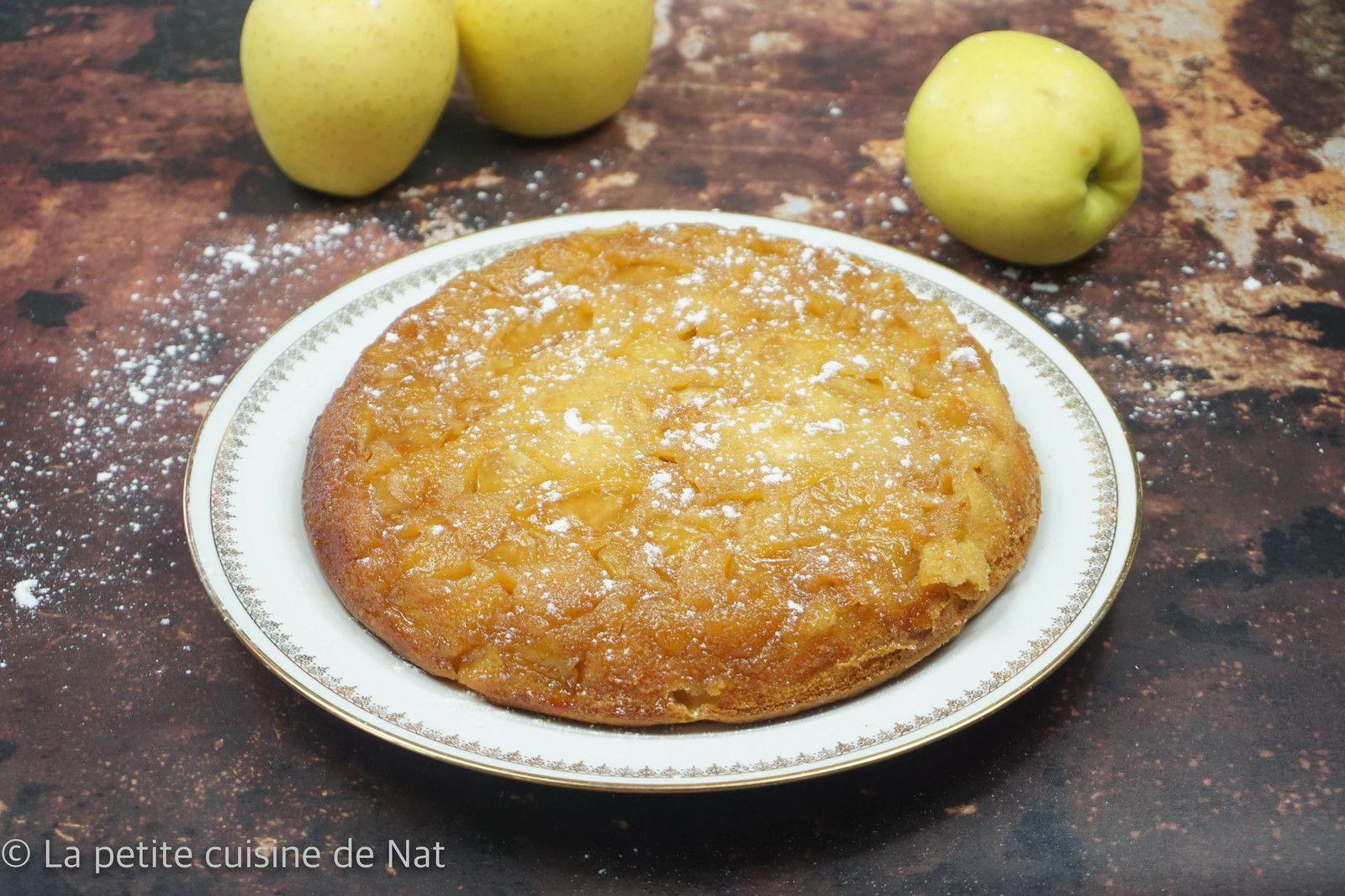 gâteau renversé aux pommes