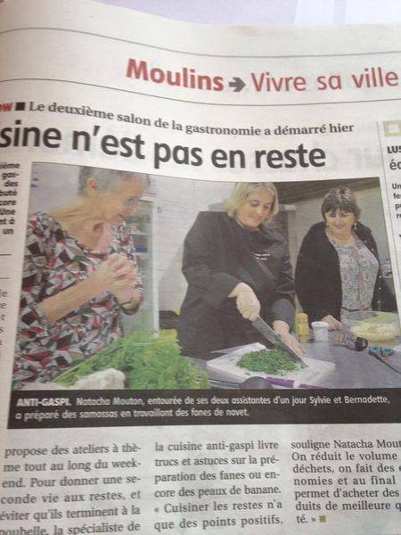 Journal La montagne du 8 novembre 2015