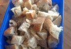 Conserver les petits bouts de pain