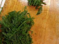feuilletés apéro au pesto de fanes de carottes