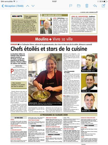 Journal La Montagne du 2/11/2015