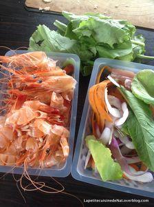 bouillon thaï aux déchets de crevettes et épluchures