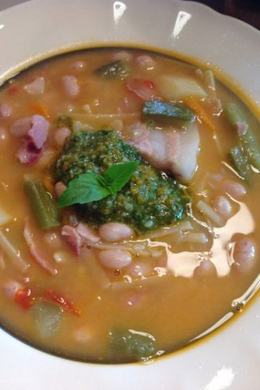 soupe au pistou facile