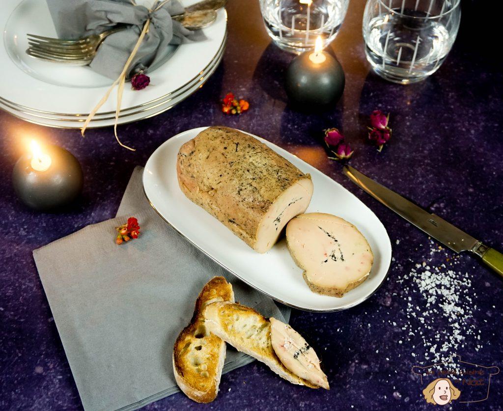 Foie gras aux truffes
