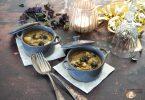 cassolettes escargots cèpes et poireau