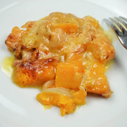 assiette de tartiflette butternut maroilles