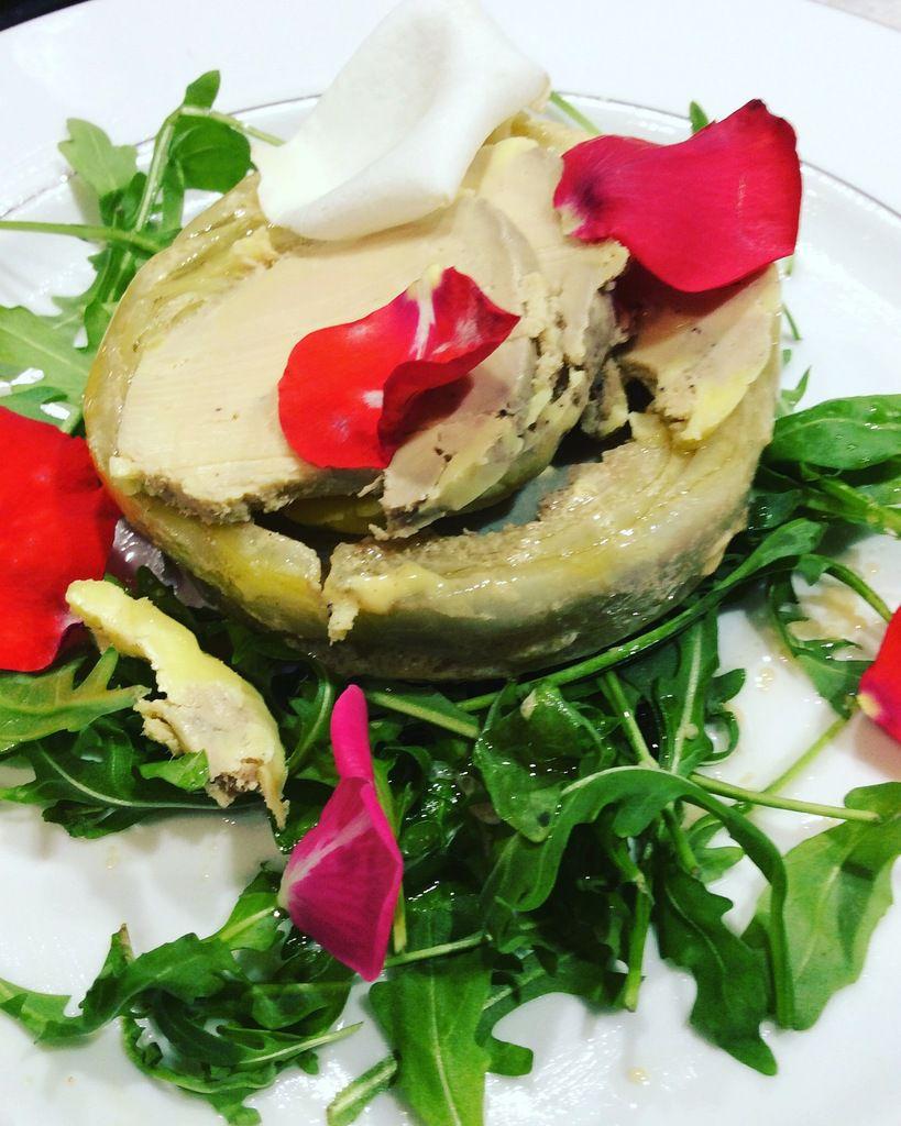 artichaut foie gras