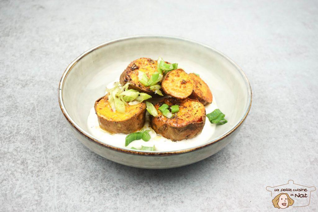 Patates douces aux épices cajun
