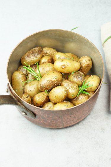 pommes de terre grenailles au romarin