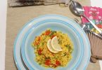 riz à l'espagnol végétarien