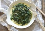 épinards frais à la moutarde