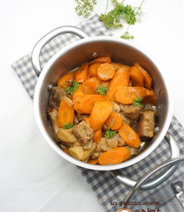 tendrons de veau aux carottes